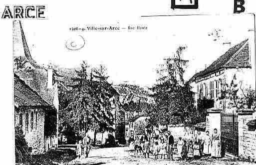 Ville de VILLESURARCE Carte postale ancienne