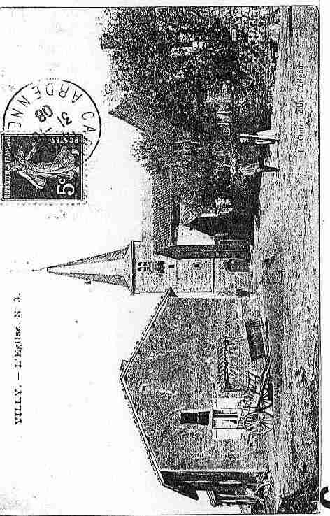 Ville de VILLY Carte postale ancienne
