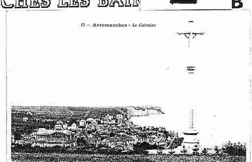 Ville de ARROMANCHESLESBAINS Carte postale ancienne