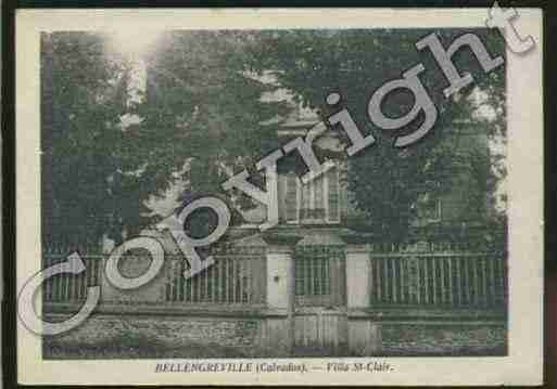 Ville de BELLENGREVILLE Carte postale ancienne