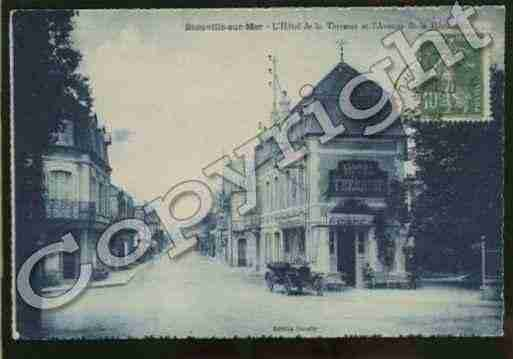 Ville de BLONVILLESURMER Carte postale ancienne