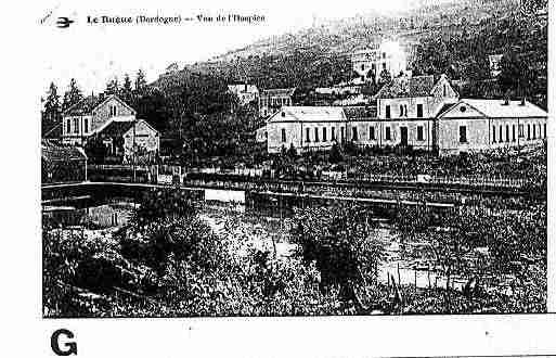 Ville de BUGUE(LE) Carte postale ancienne