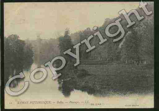 Ville de BULLY Carte postale ancienne