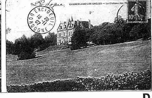 Ville de CHANCELADE Carte postale ancienne