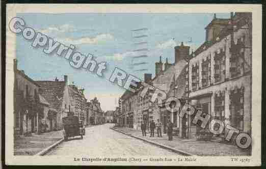 Ville de CHAPELLED\'ANGILLON(LA) Carte postale ancienne