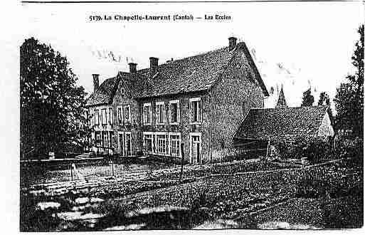 Ville de CHAPELLELAURENT(LA) Carte postale ancienne