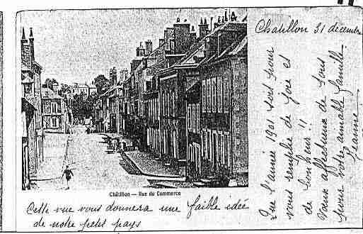 Ville de CHATILLONSURSEINE Carte postale ancienne