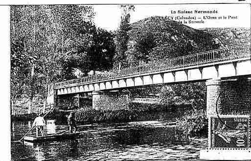 Ville de CLECY Carte postale ancienne