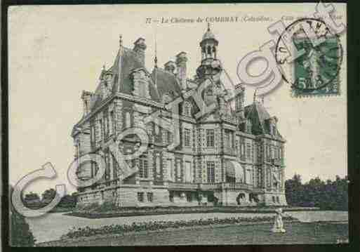 Ville de COMBRAY Carte postale ancienne