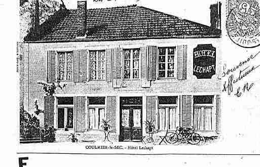 Ville de COULMIERLESEC Carte postale ancienne