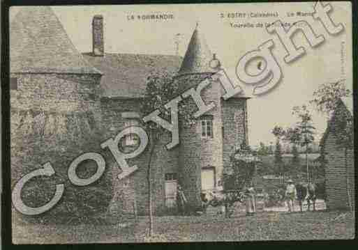 Ville de ESTRY Carte postale ancienne