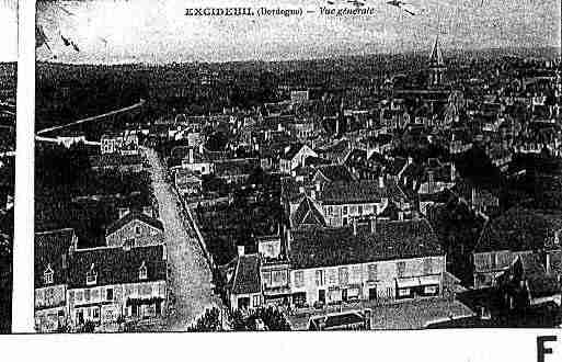 Ville de EXCIDEUIL Carte postale ancienne