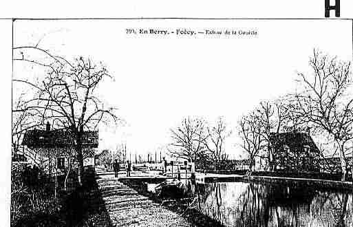 Ville de FOECY Carte postale ancienne