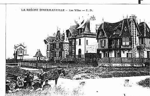 Ville de HERMANVILLESURMER Carte postale ancienne