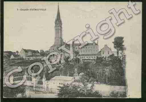 Ville de HEROUVILLESAINTCLAIR Carte postale ancienne