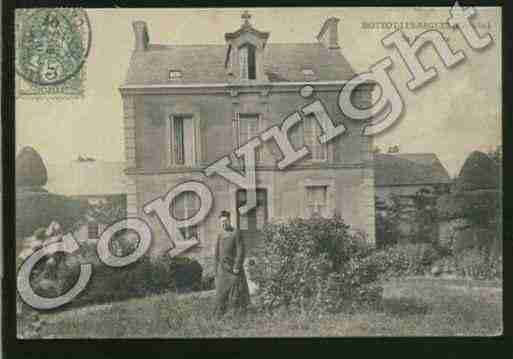 Ville de HOTTOTLESBAGUES Carte postale ancienne