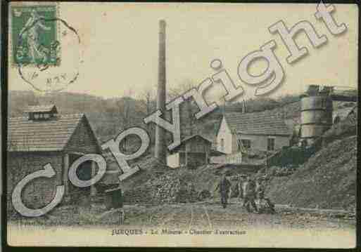 Ville de JURQUES Carte postale ancienne