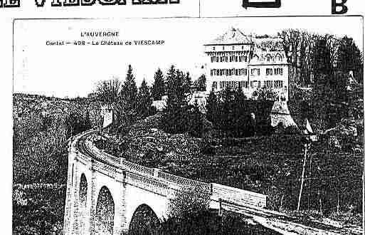 Ville de LACAPELLEVIESCAMP Carte postale ancienne