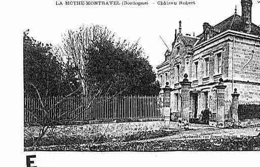Ville de LAMOTHEMONTRAVEL Carte postale ancienne
