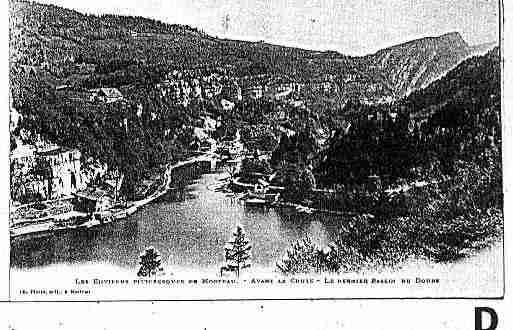 Ville de MORTEAU Carte postale ancienne