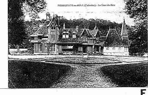 Ville de PIERREFITTEENAUGE Carte postale ancienne