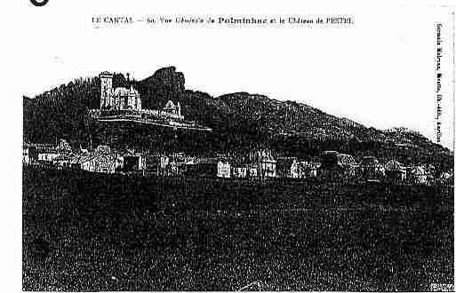 Ville de POLMINHAC Carte postale ancienne
