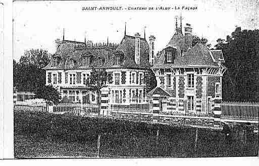 Ville de SAINTARNOULT Carte postale ancienne