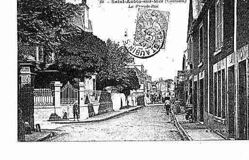 Ville de SAINTAUBINSURMER Carte postale ancienne