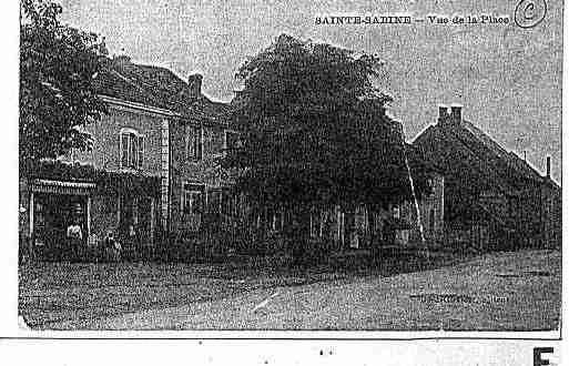 Ville de SAINTESABINE Carte postale ancienne
