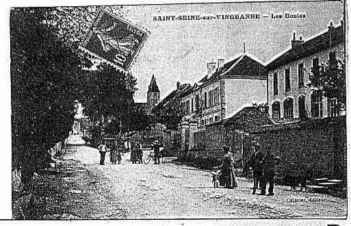 Ville de SAINTESEINESVINGEANNE Carte postale ancienne