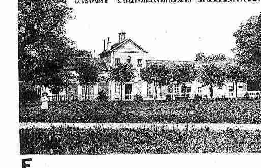 Ville de SAINTGERMAINLANGOT Carte postale ancienne