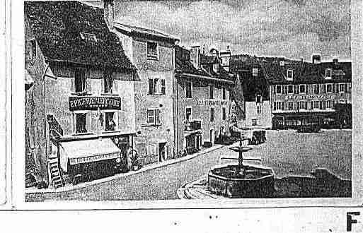 Ville de SAINTHIPPOLYTE Carte postale ancienne
