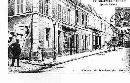Ville de SAINTJULIENLEFAUCON Carte postale ancienne