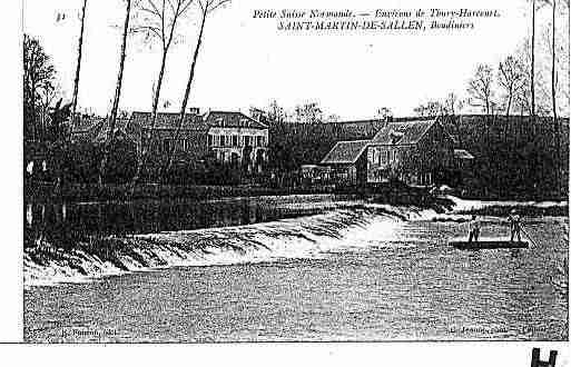 Ville de SAINTMARTINDESALLEN Carte postale ancienne