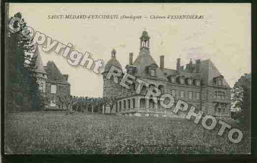 Ville de SAINTMEDARDD\'EXCIDEUIL Carte postale ancienne