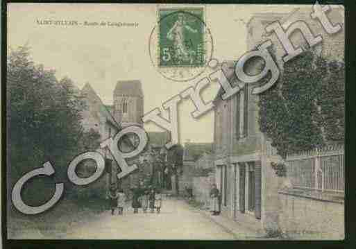 Ville de SAINTSYLVAIN Carte postale ancienne