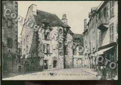 Ville de SALERS Carte postale ancienne
