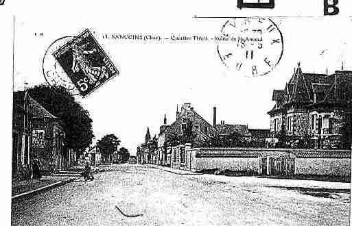 Ville de SANCOINS Carte postale ancienne