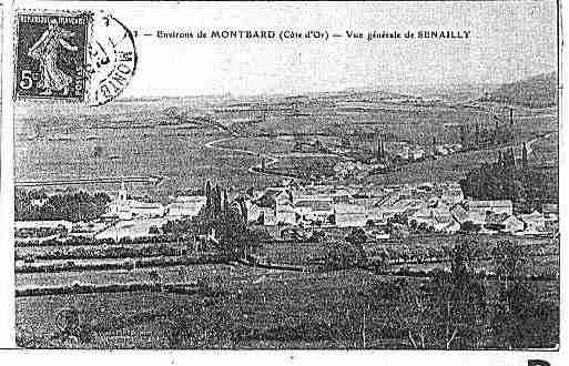 Ville de SENAILLY Carte postale ancienne