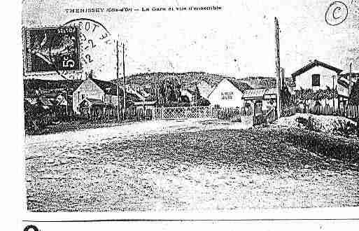 Ville de THENISSEY Carte postale ancienne