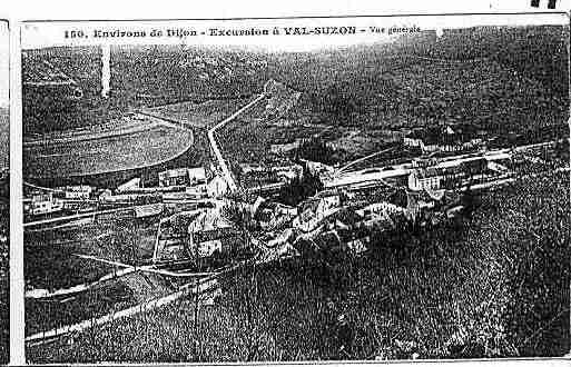 Ville de VALSUZON Carte postale ancienne