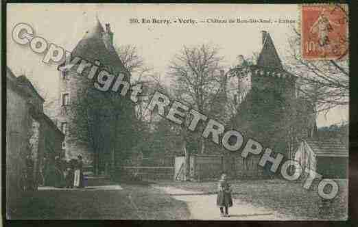 Ville de VORLY Carte postale ancienne