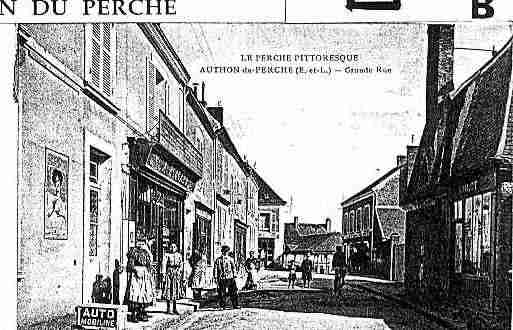 Ville de AUTHONDUPERCHE Carte postale ancienne