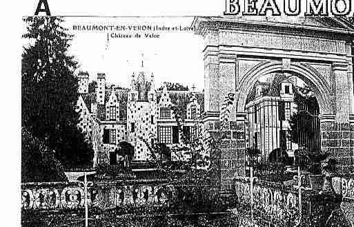 Ville de BEAUMONTENVERON Carte postale ancienne