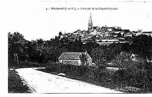 Ville de BECHEREL Carte postale ancienne