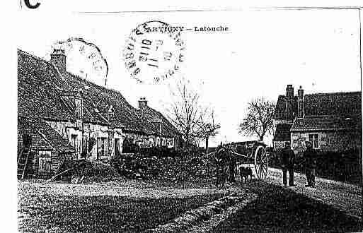 Ville de CHARGE Carte postale ancienne