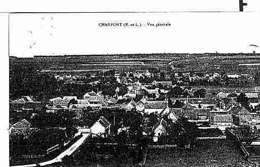 Ville de CHARRAY Carte postale ancienne