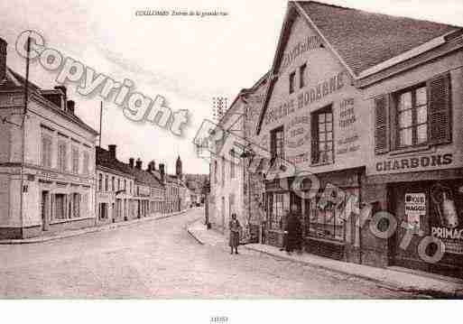 Ville de COULOMBS Carte postale ancienne