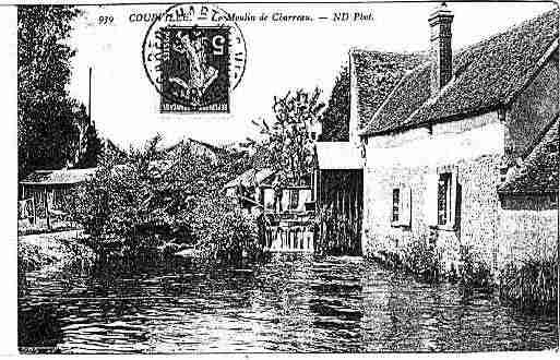 Ville de COURVILLESUREURE Carte postale ancienne
