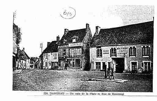 Ville de DANGEAU Carte postale ancienne